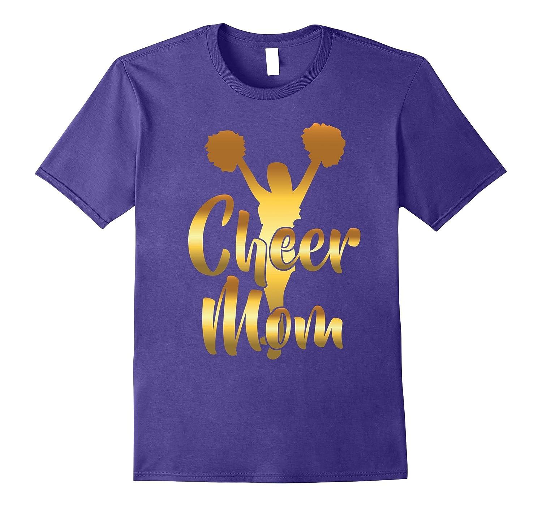 Cheer Mom Cheerleading Mother T-Shirt-T-Shirt