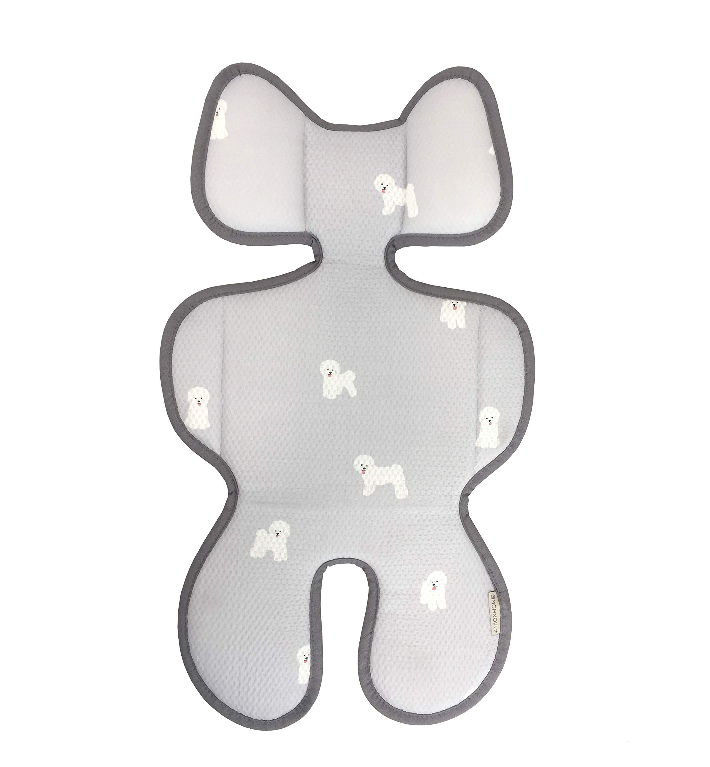 Momnoko 3D Air Mesh Cool Liner for Stroller & Car Seat (Puppy Pattern) by Momnoko (Image #1)