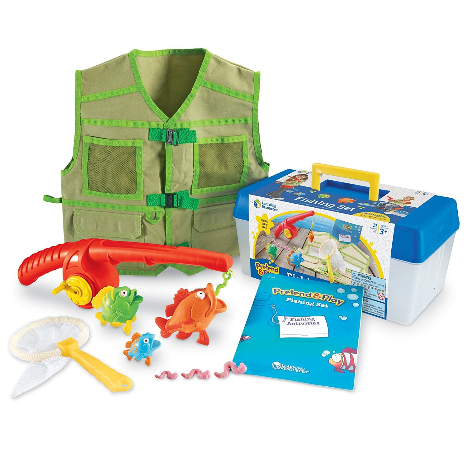 Learning Resources Fishing Set, 11 Pieces LER9055