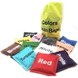 "Colors Bean Bags Assorted 12 pc 5""in by Oojami"