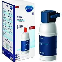 BRITA Filtercartridge P1000 – Filter voor BRITA Armaturen ter Vermindering van Kalk, Chloor en Smaakstorende Stoffen in…
