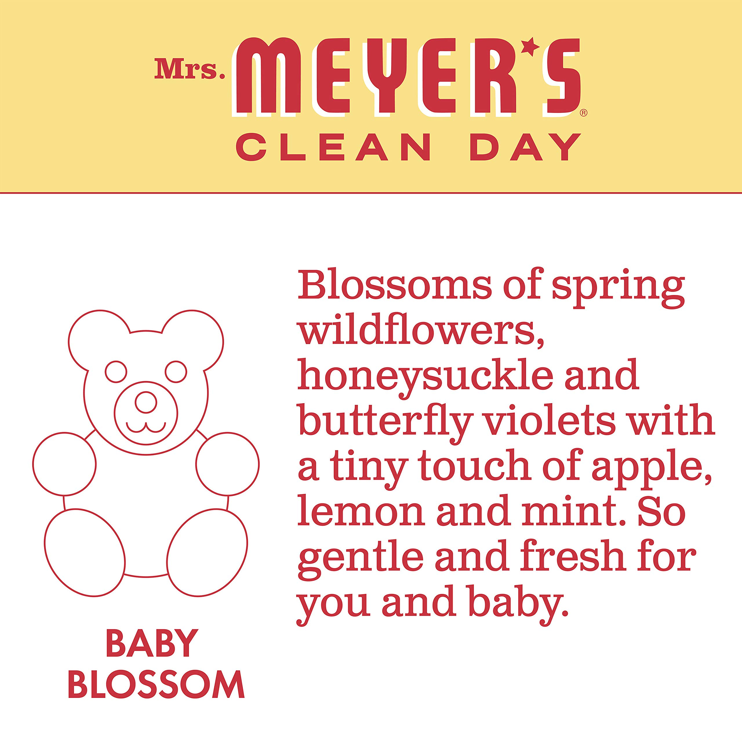 Mrs. Meyer's Laundry Detergent, Baby Blossom, 64 fl oz (2 ct) by Mrs. Meyer's Clean Day (Image #4)