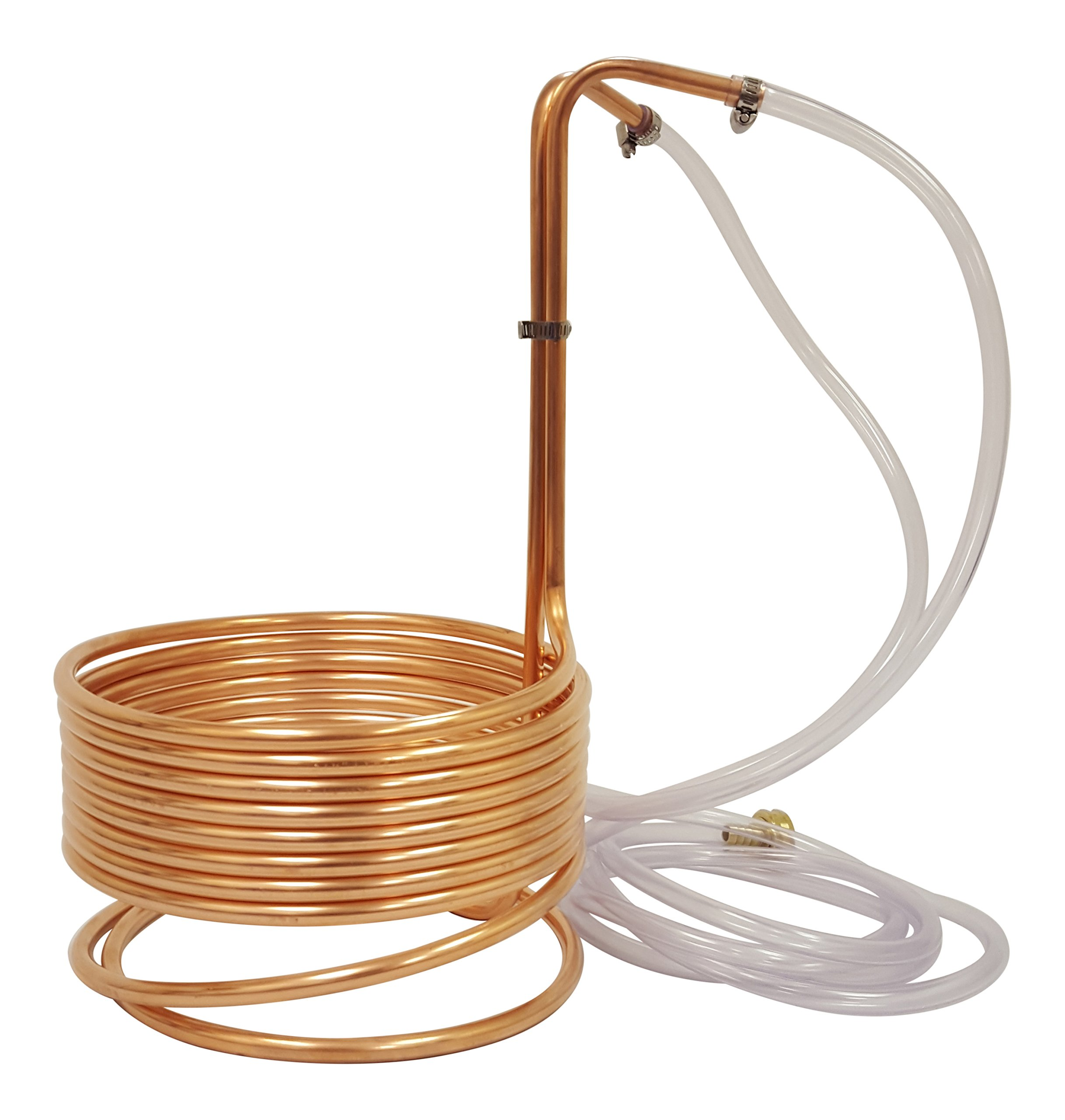 NY Brew Supply Wort Chiller, 3/8'' x 25', Copper