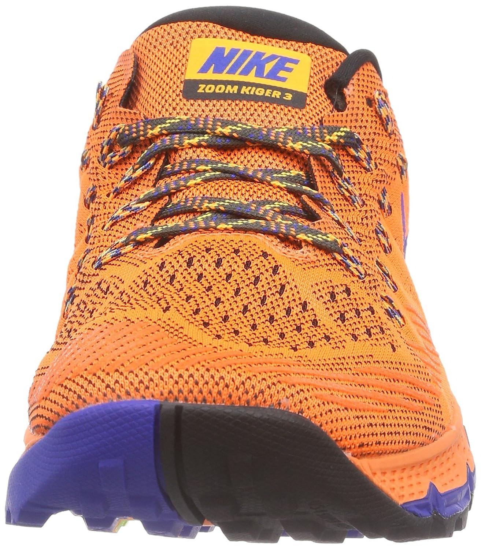 f74234fb3151f NIKE AIR ZOOM TERRA KIGER 3 749334-800 Total Orange Deep Pewter Laser Orange  Game Royal Orange Game Royal 10 D(M) US  Amazon.in  Shoes   Handbags