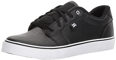 DC Men's Anvil SE Skate Shoe, Black, ...