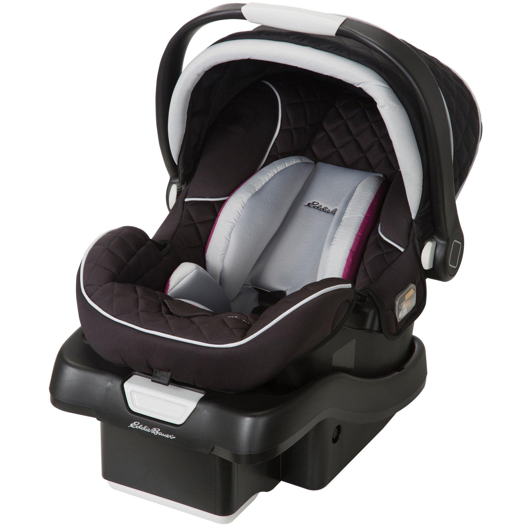 Eddie Bauer SureFit Infant Car Seat, Orchid