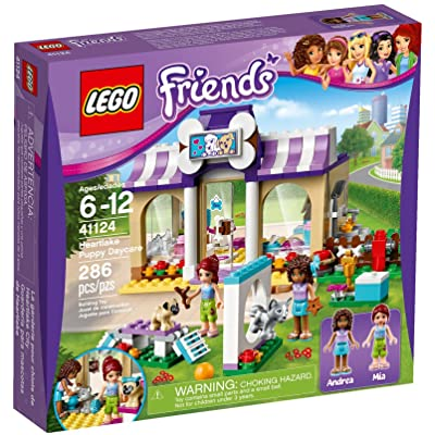 LEGO Friends Heartlake Puppy Daycare 41124: Toys & Games
