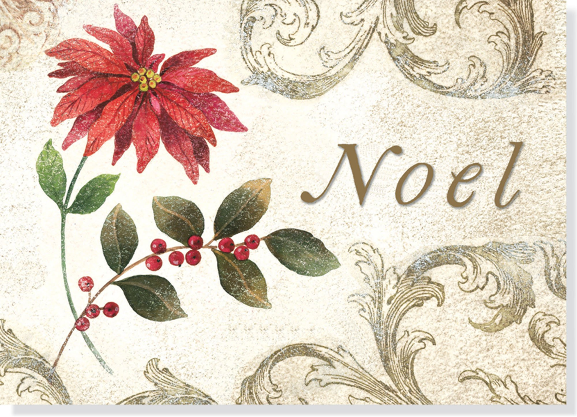 Season/'s Greetings Vintage Holiday Collection Boxed Holiday Card