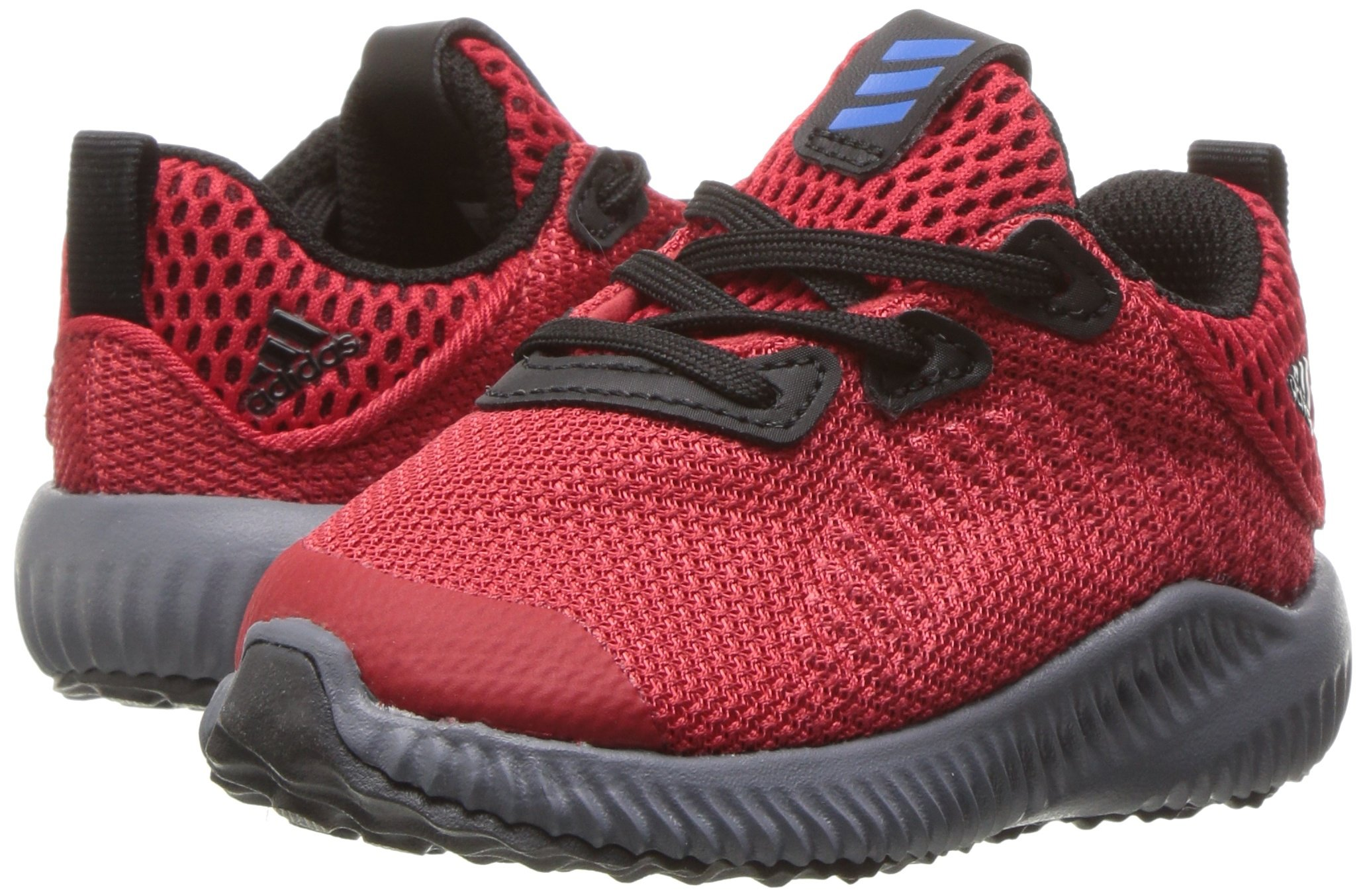adidas Kids' Alphabounce Sneaker, Scarlet/Satellite/Black, 8 M US Toddler by adidas (Image #6)
