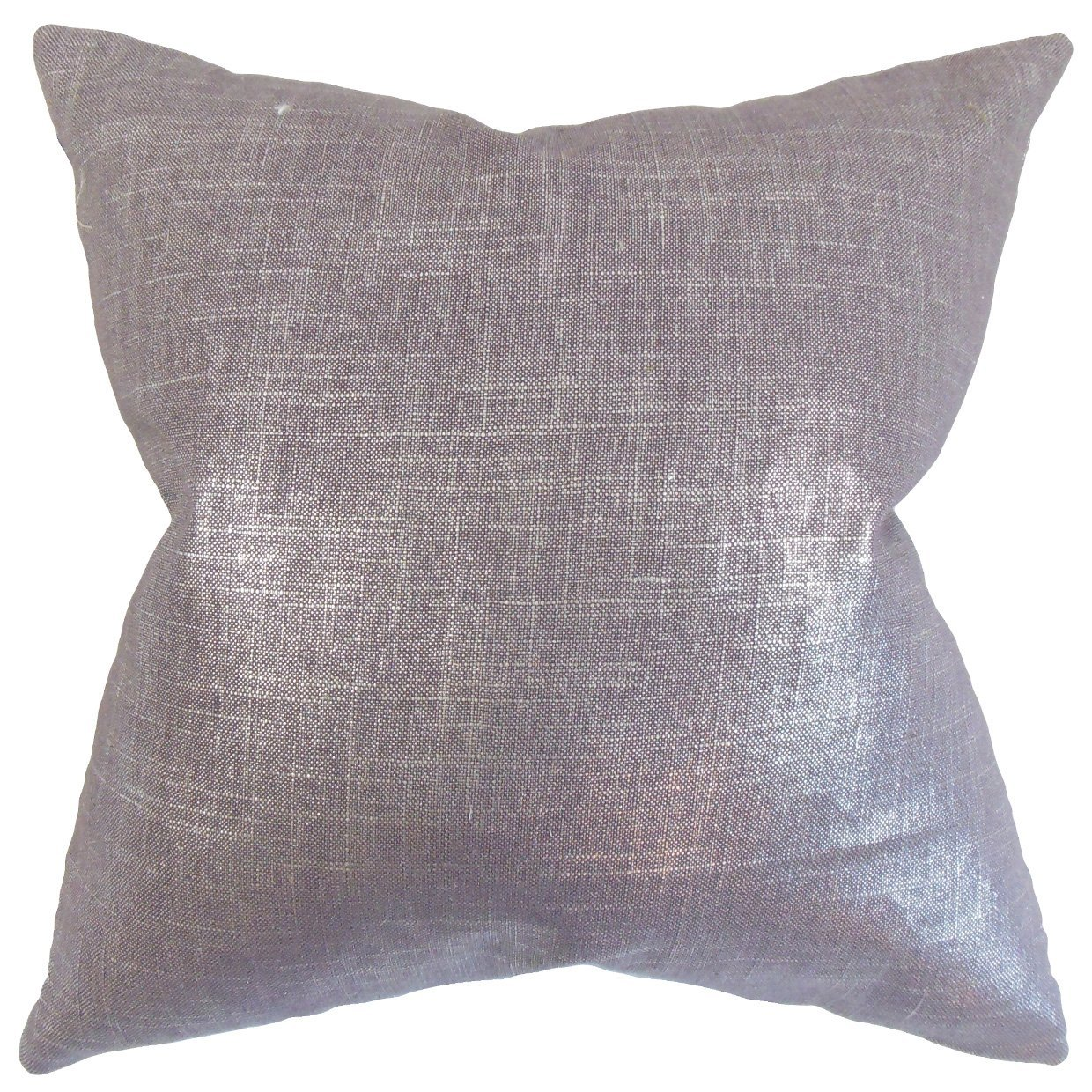 The Pillow Collection Florin Solid Throw Pillow Cover