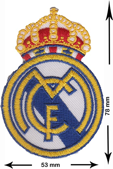 Patch – fc Real Madrid – Corona – primera División – Soccer Spain ...