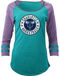 Amazon.com : NBA Women's Assist Raglan Long Sleeve T-Shirt Top ...