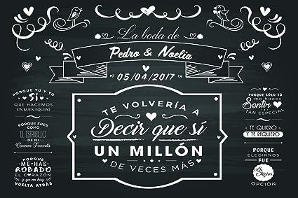 Oedim Photocall Boda Eventos 2,40 m x1,60 m | San Valentin ...