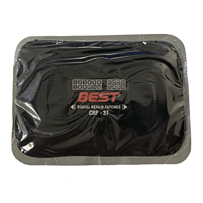 """Bestpatch CRP37 7""""x5"""" Radial Tire Repair Patch (10 Pack) 4 Ply: Automotive"""