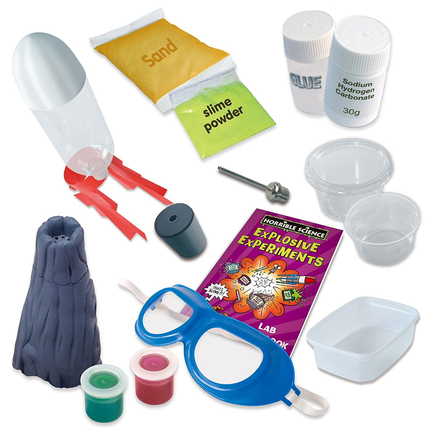 Explosive Experiments The Kit Horrible Science