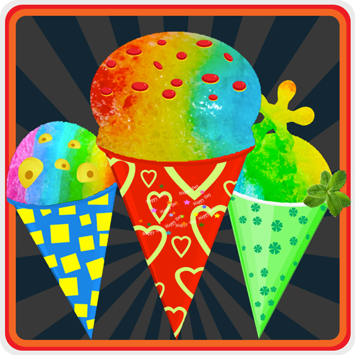 Celebrity Rainbow Snow Cone Maker (Burger Maker Delux)