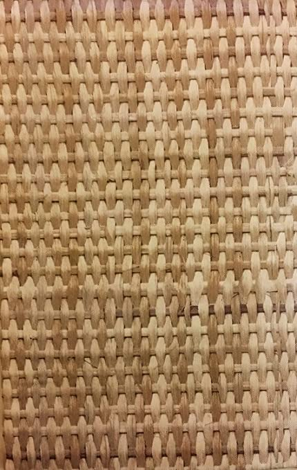 Amazoncom Bamboo Basketweave Vinyl Flannel Back Tablecloth Home - Basket weave vinyl flooring