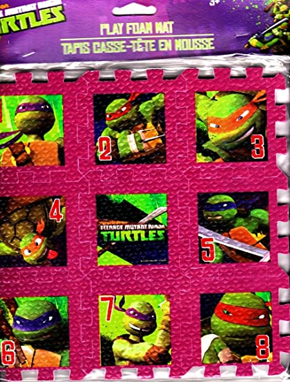 Amazon.com: teenage mutant ninja turtles Play alfombrilla de ...