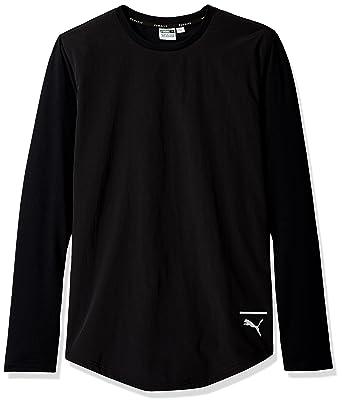 71b59ed5ba4 PUMA Men's Evo Long Sleeve T-Shirt at Amazon Men's Clothing store:
