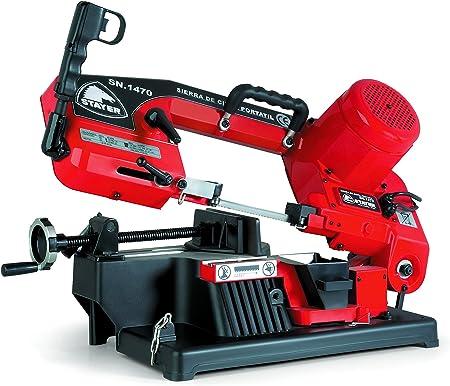 Stayer 1.5526 Sierra de Cinta PROFESIONAL con motor de inducción ½ HP, 1470 x 13 x 0,65 mm SN 1470