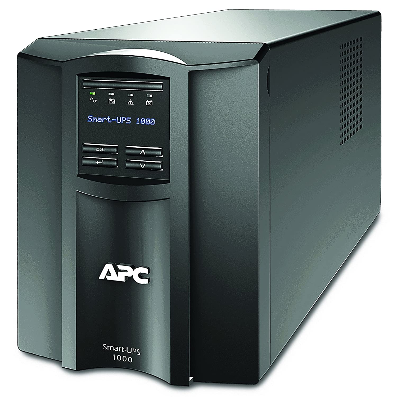 apc smart ups smt smt750i uninterruptible power supply 750va line interactive avr lcd panel 6 outlets iec c13 shutdown software