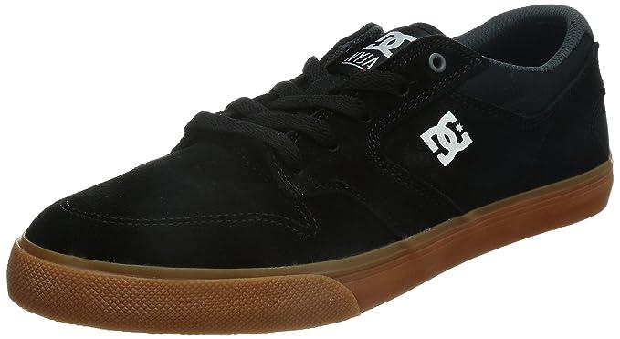 DC Skateboarding Nyjah Vulcanized Skate Shoe  Men's Black/Gum