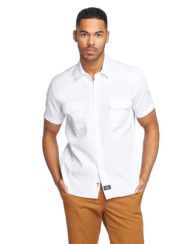 Dickies Men's WS576 Slim Fit Short Sleeve Casual Shirt