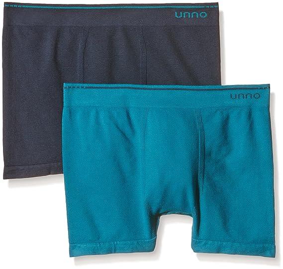 UNNO Auuh102, Boxer Sin Costuras De Algodón Para Hombre: Amazon.es: Ropa y accesorios