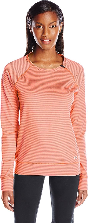 TALLA M. Under Armour de Fitness para Mujer T-Shirt protección y Coldgear Loose Crew
