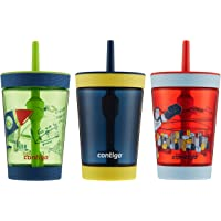Kids Contigo Spill-Proof Tumbler with Straw 3 Pack