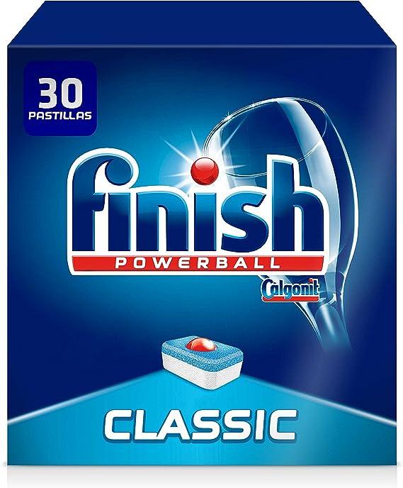 Finish Classic Regular Pastillas para Lavavajillas, 30 Pastillas ...