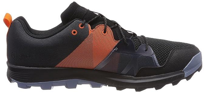 adidas Kanadia 8.1 TR M, Scarpe da Trail Running Uomo, Grigio (Carbon/Negbas/Naranj 000), 39 1/3 EU