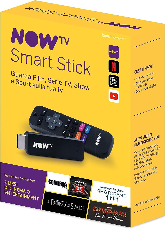 Now TV Smart Stick con los Primeros 3 Meses a Elegir Entre Cine o Entretenimiento.: Amazon.es: Electrónica