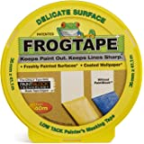 Frog Tape Yellow Delicate Surface Painters Masking Tape 36mm x 41.1m. Indoor painting and decorating for sharp lines and…