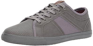 Ben Sherman Men's Madison Perf Sneaker, Grey, ...
