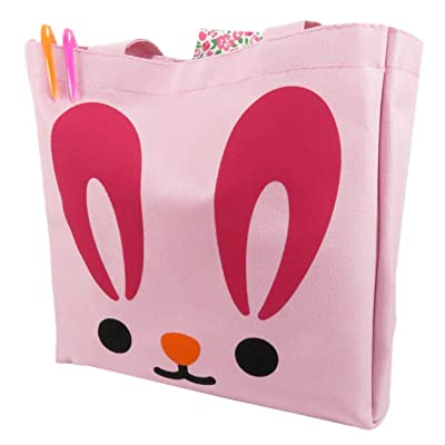 10454a3c21af hot sale 2017 Daiso Cute Bunny Rabbit Tote Bag Purse 10.75 x 10.5 ...