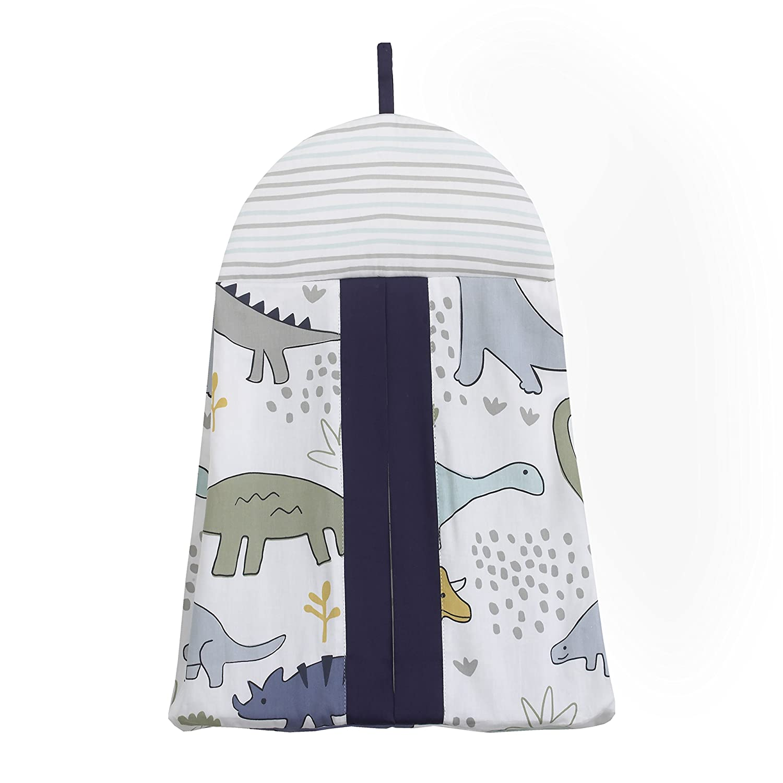 NoJo Elephant 8-Piece Nursery Crib Bedding Set Grey//White//Charcoal