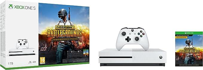 Microsoft Xbox One S - Consola 1 TB + Playerunknowns ...