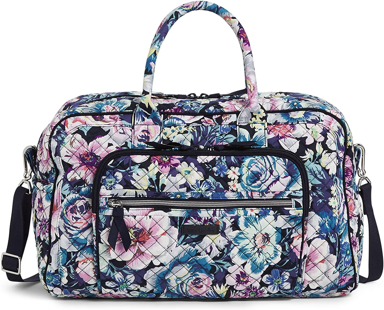 Vera Bradley Women's Signature Cotton Compact Weekender Travel Bag