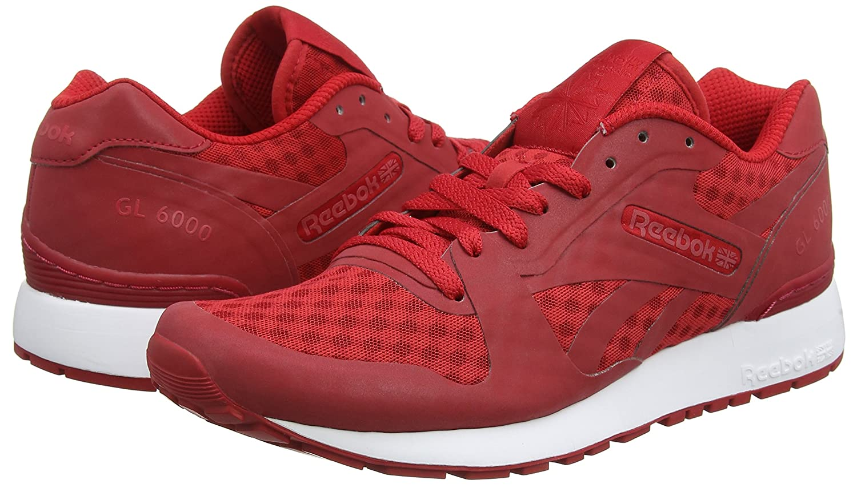 Reebok Pack Technologie De Messagerie Cachée De 6000, Zapatillas Para Hombre, Rojo (aq9818_41 Eu_excellent Rouge / Blanc / Noir), 42 I