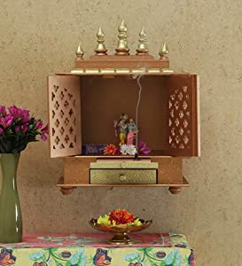 Wooden Temple/ Home Temple/ Pooja Mandir/ Pooja Mandap/ Temple for Home JORD709