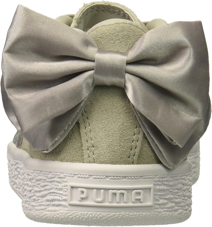 PUMA Suede Bow Ac Kids Sneaker,