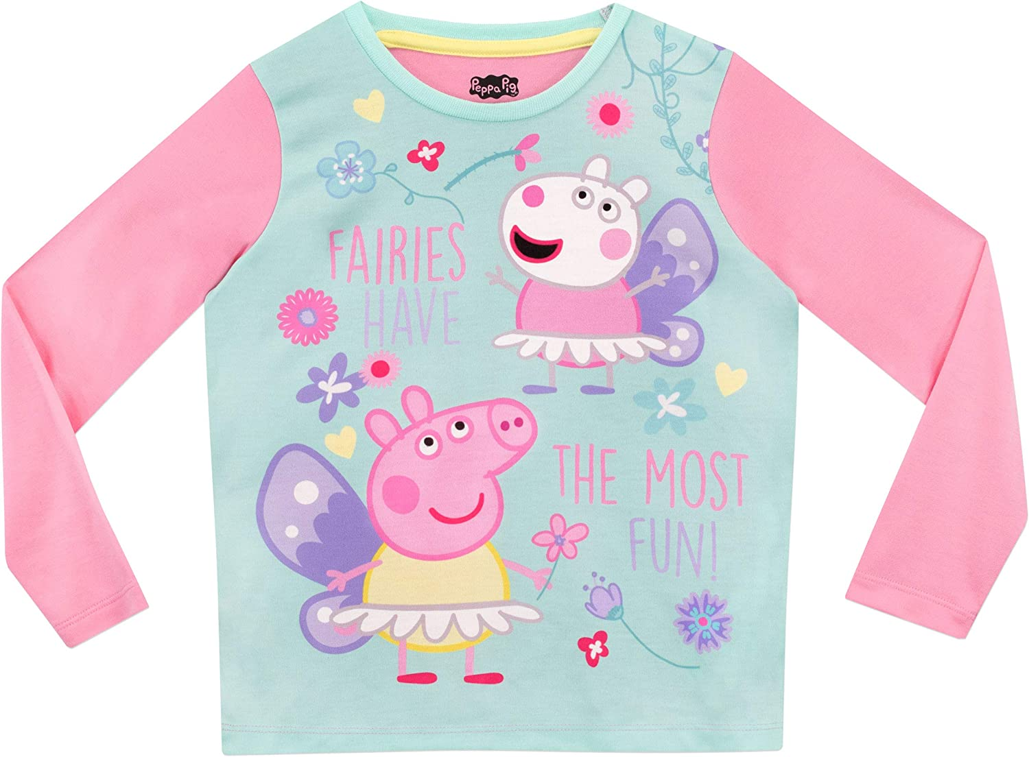 Peppa Pig Girls Fairy Pyjamas