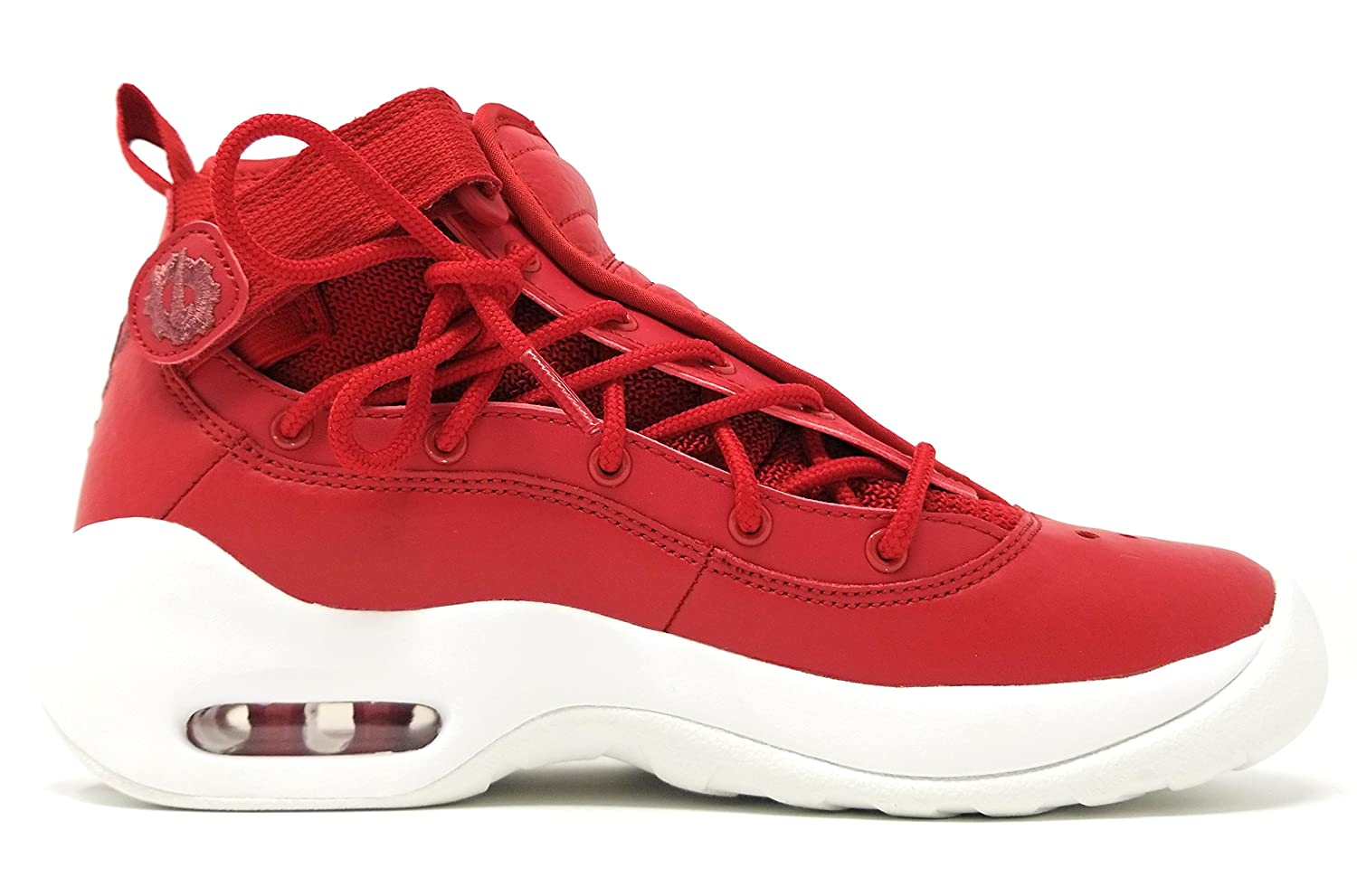 NIKE Air Shake NDESTRUKT Size 5Y GS Gym Red// Gym Red-Summit White AA2888 600
