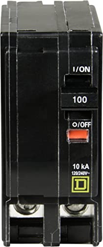 Square D by Schneider Electric QO2100CP QO 100-Amp Two-Pole Circuit Breaker