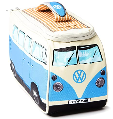 Bolsa nevera portátil azul, diseño de Volkswagen Camper: Amazon.es ...