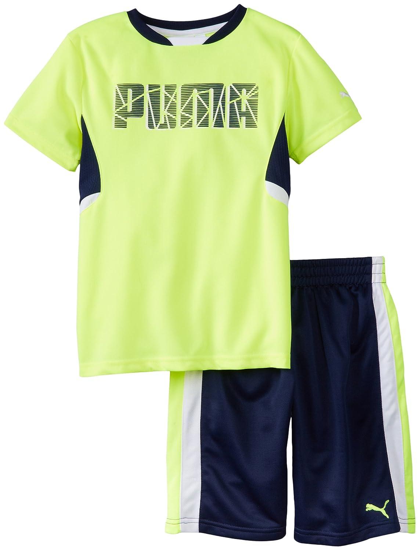 PUMA Little Boys Shatter Set Safety Yellow 2T