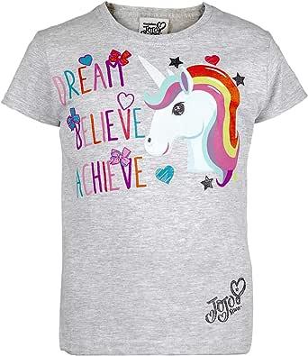 Popgear Jojo Siwa sueño del Unicornio Camiseta de Las Muchachas | mercancía Oficial: Amazon.es: Ropa y accesorios