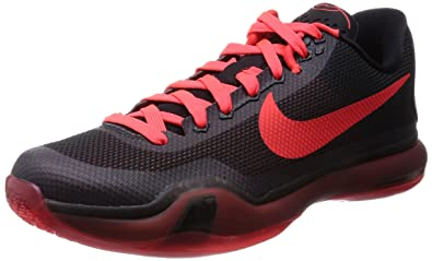 low cost 6d228 ef9cd Nike Men u0027s Kobe X, Black Bright Crimson-Anthracite, .