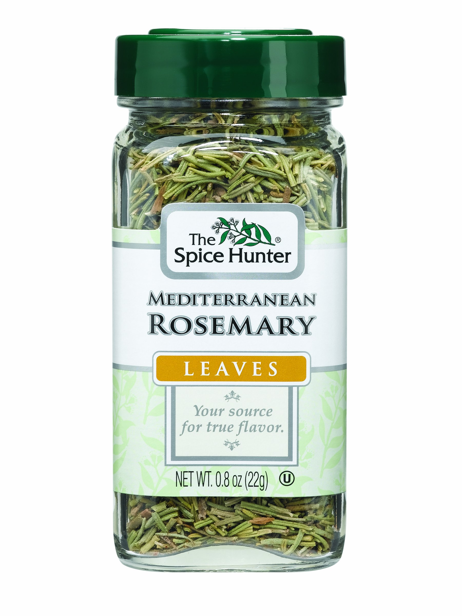 The Spice Hunter Rosemary, Mediterranean, Leaves, 0.8-Ounce Jar